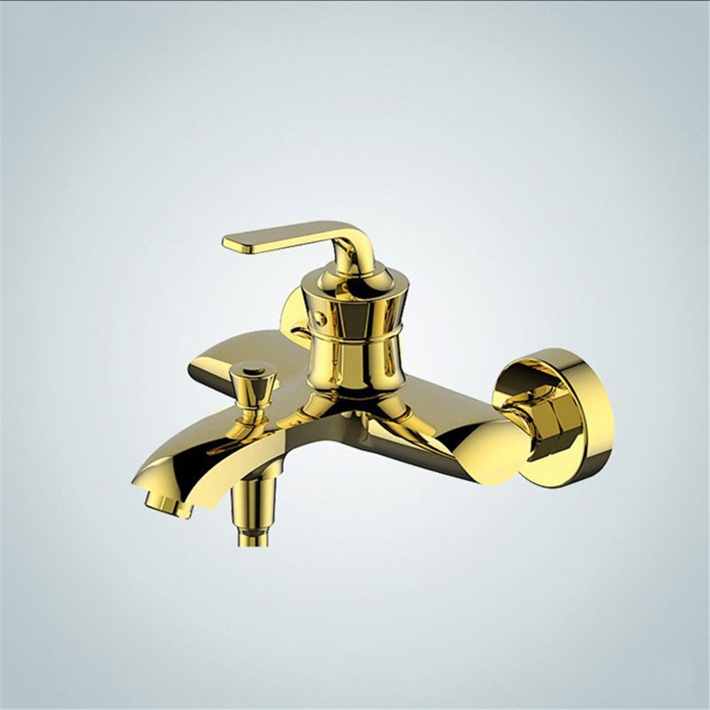 Lalaky Taps Faucet Kitchen Mixer Sink Waterfall Bathroom Mixer Basin Mixer Tap for Kitchen Bathroom and Washroom golden Antique Copper Triple Hot and Cold