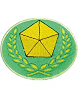 De-Cos Legend of the Galactic Heroes Cosplay Accessory Alliance Army Iron Badge