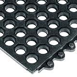 Aviditi MAT231 Drainage Modular Mat, 3' x 3'