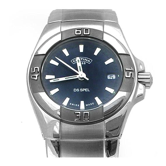 Certina C12971554251 - Reloj, correa de acero inoxidable color plateado: Amazon.es: Relojes