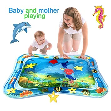 Amazon.com: Christoy - Alfombrilla de agua inflable para ...