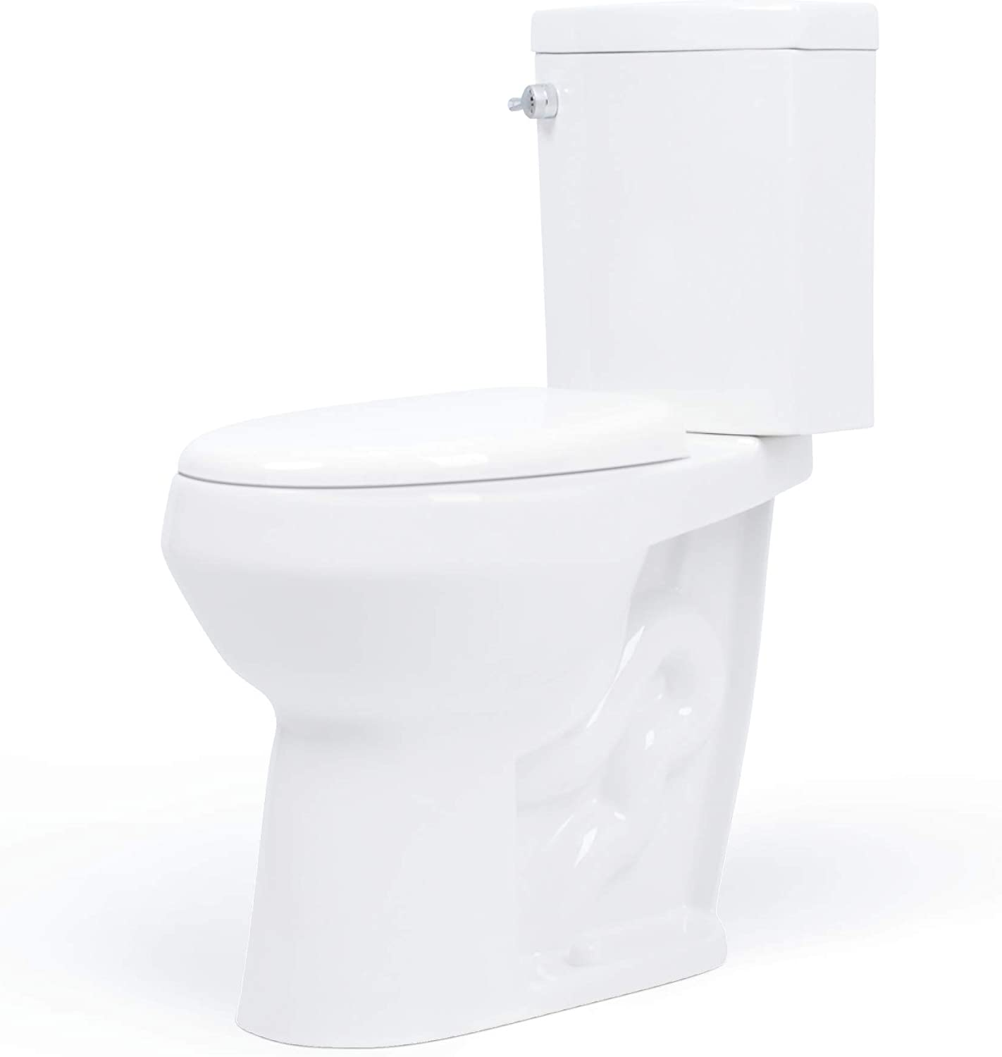 best comfort height toilets: Convenient Height 20-inch Extra Tall Toilet