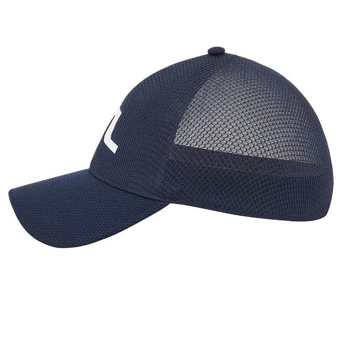 15c9f578041 Amazon.com   J.Lindeberg Ace Mesh Seamless 86MG Golf Cap JL Navy Medium    Sports   Outdoors