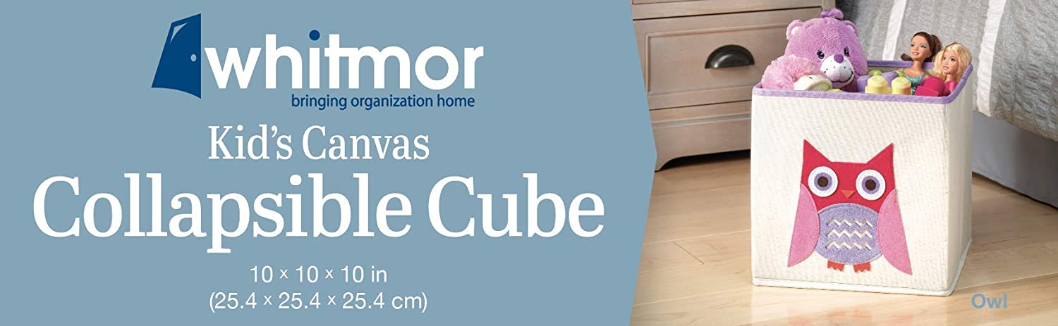 Amazon.com: Whitmor 6256-4925 cubo para guardar juguetes ...