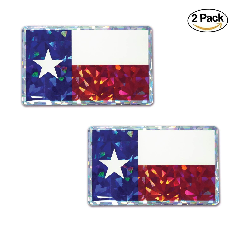 Elektroplate American Flag Reflective Decal Sticker