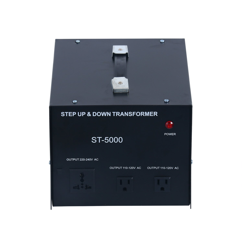 YaeCCC 5000 Watt Voltage Converter Transformer - 110V/220V - Circuit Breaker Protection by YaeCCC (Image #3)
