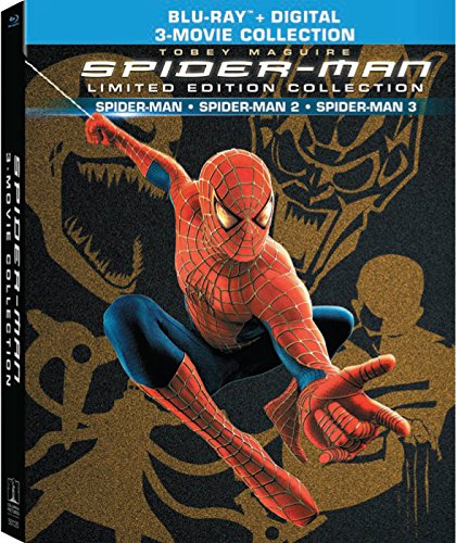 Blu-ray : Spider-Man Origins Collection (Collector\'s Edition, Digibook, Ultraviolet Digital Copy, 2 Disc)