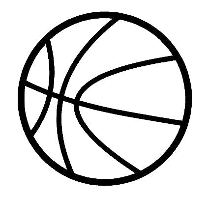 Sassy Stickers Baloncesto Blanco Deportes Adhesivo Decorativo para ...