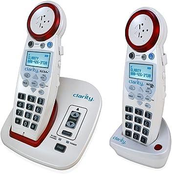 Alto Volumen 50 db Tamaño Grande Botón Teléfonos inalámbricos para Que Puede Tener Problemas de oídos relacionadas con la Edad: Amazon.es: Electrónica