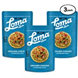 Loma Linda TUNO Sesame Ginger Fishless Tuna - Non-GMO (3 oz.) (Pack of 3)