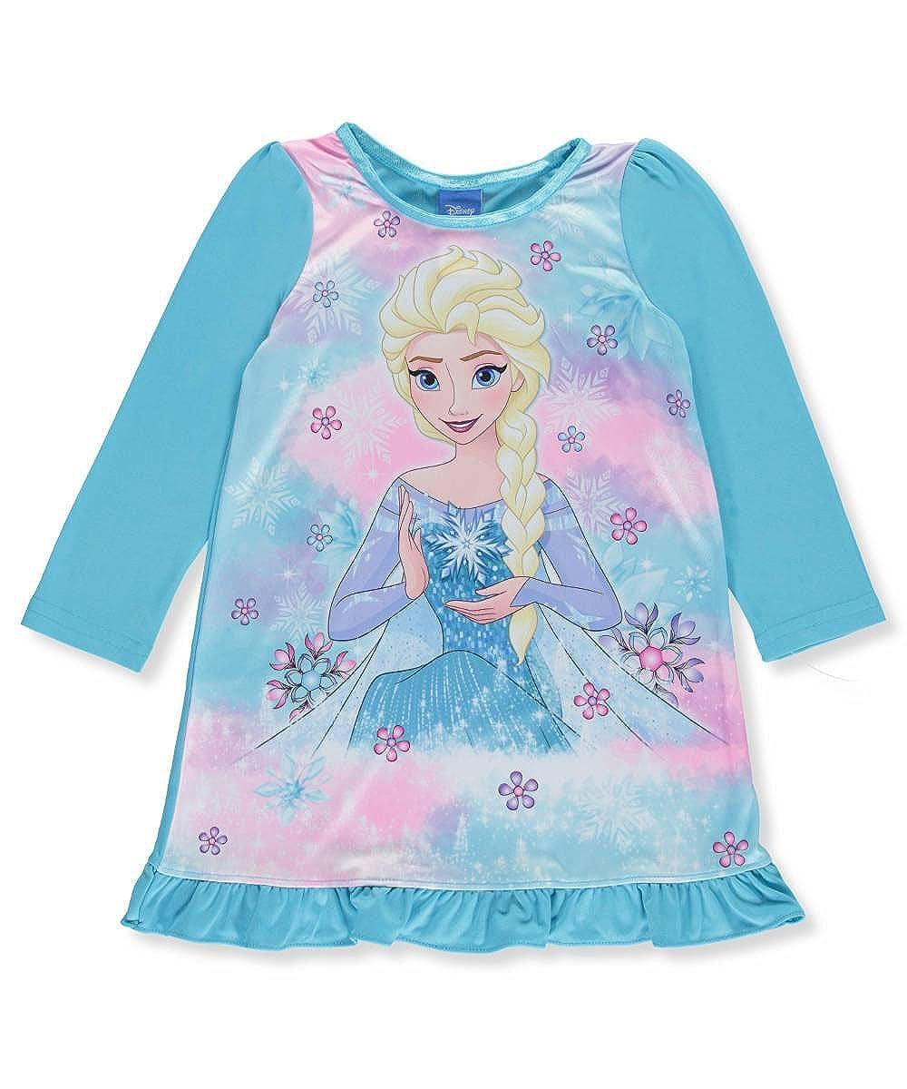 Disney Frozen Little Girls Toddler Ruffled Ice Nightgown