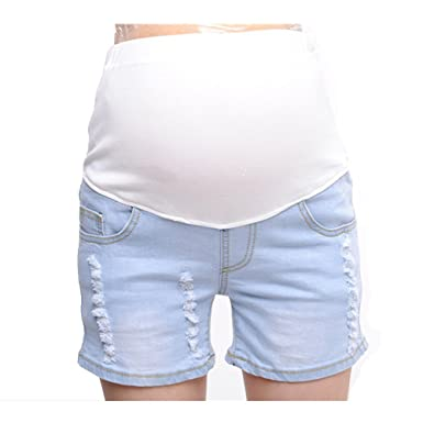 36ef83a4f9bc1 Sunny Maternity Jeans Pregnant Women Plus Size Maternity Clothing Summer  Maternity Pants (M)