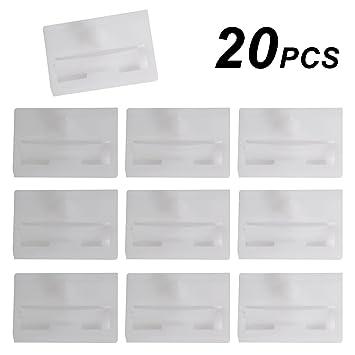 20x Clips Sujetador Grapas Plásticos para Faldón lateral Embellecedor: Amazon.es: Coche y moto