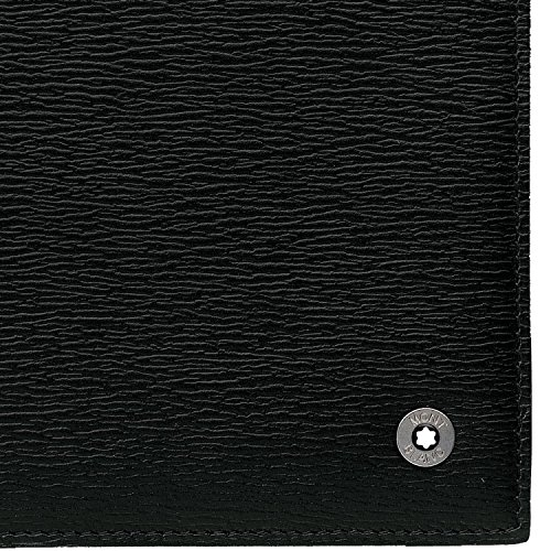Amazon.com: Mont Blanc Westside 12 CC negro cartera 9299 ...