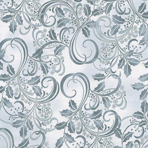 Hoffman Winter Blossom Fog Silver