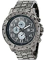 Joshua & Sons Mens JS78BK Swiss Quartz Multifunction Black Bracelet Watch