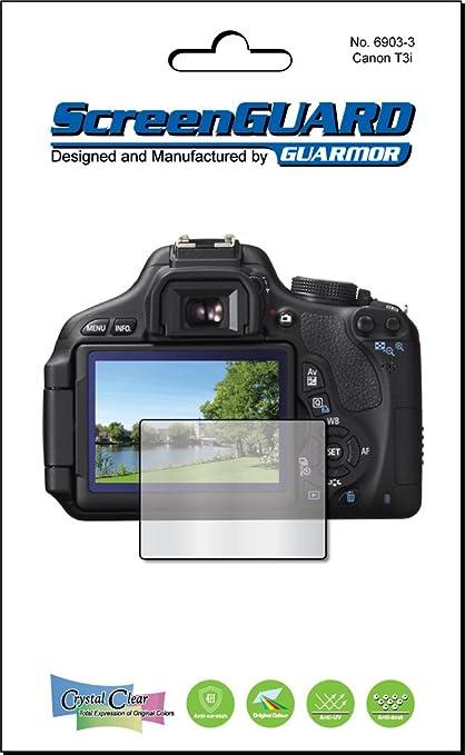 Guarmor - Protector de pantalla para cámaras Canon EOS 600D Rebel ...