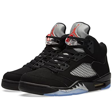 Amazon.com  Nike Air Jordan 5 Retro OG Mens Hi Top Basketball Trainers  845035 Sneakers Shoes  Basketball