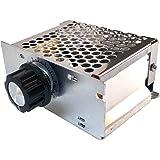 fieldlabo 電圧レギュレーター 調光器モータ 速度コントローラ AC 220V 25A 4000W SCR