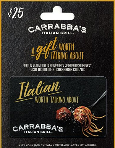 Carrabba's Gift Card $25