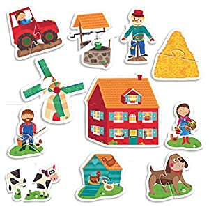 Headu 1041742 Montessori Touch First Puzzle Set Per Bambini Montessori Conoscenza Del Mondo 1
