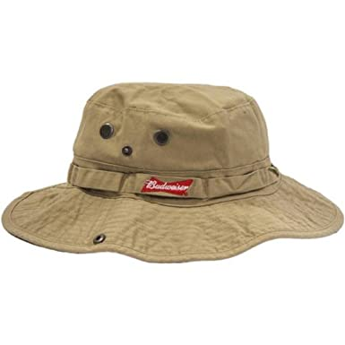 ca61ca6952175 Budweiser Boonie Hat at Amazon Men s Clothing store
