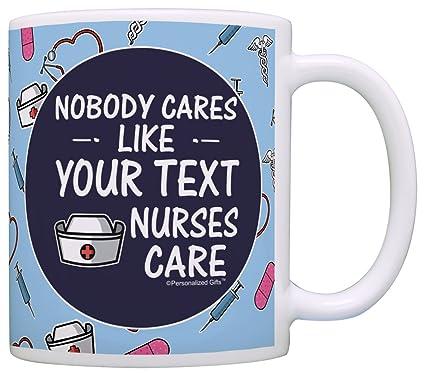 Amazon Com Personalized Nurse Gifts Nobody Cares Like Nurses Care