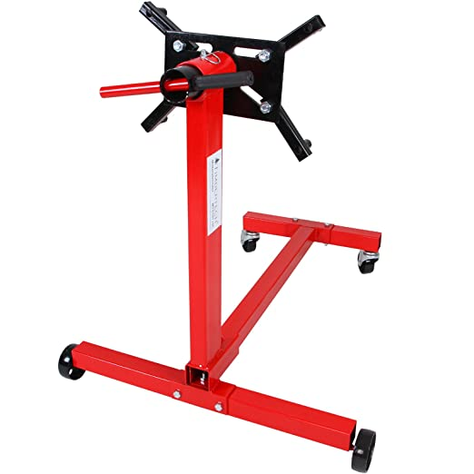 TIMBERTECH Soporte para Motor | 450 kg, Rojo | Elevador de Motos, Caballete: Amazon.es: Coche y moto