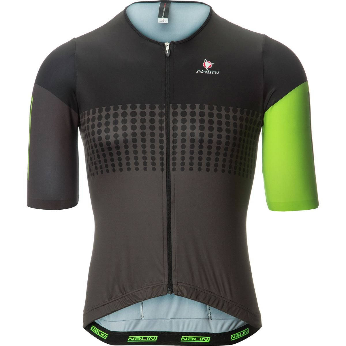 Nalini Velodromo Jersey – 半袖 – メンズ B0725YPQCJ Large|Black/Flo Green Black/Flo Green Large