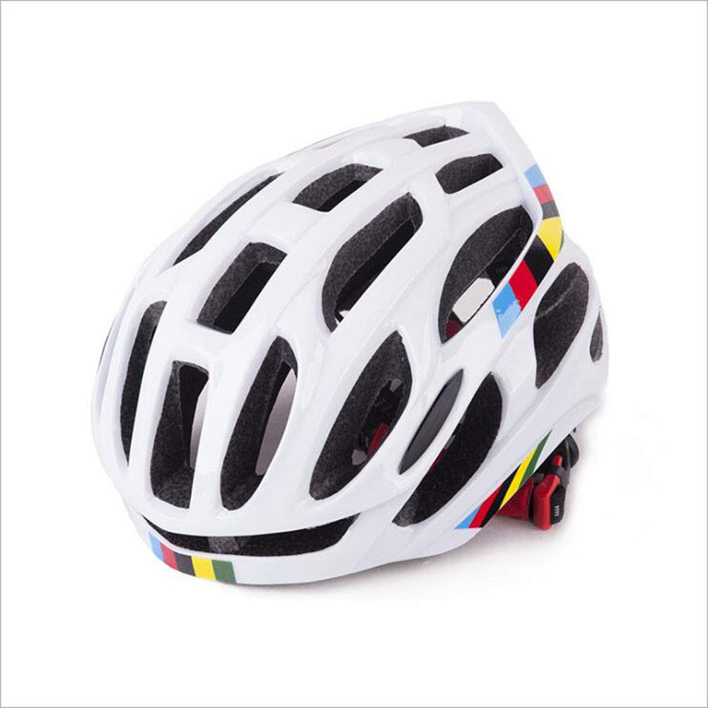 White Outdoor Riding Helmet, Outdoor Sports Helmet, Mountain Bike Helmet Riding Equipment