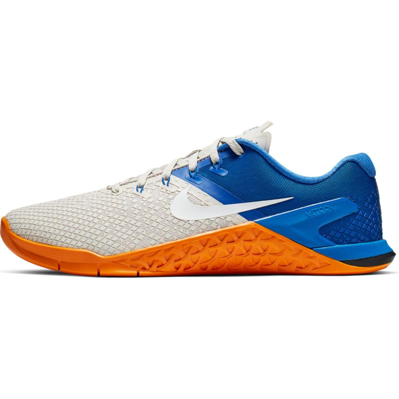 Nike Metcon 4 XD Men's Training Shoe Light Bone/White-Game Royal-Orange Peel 7.5
