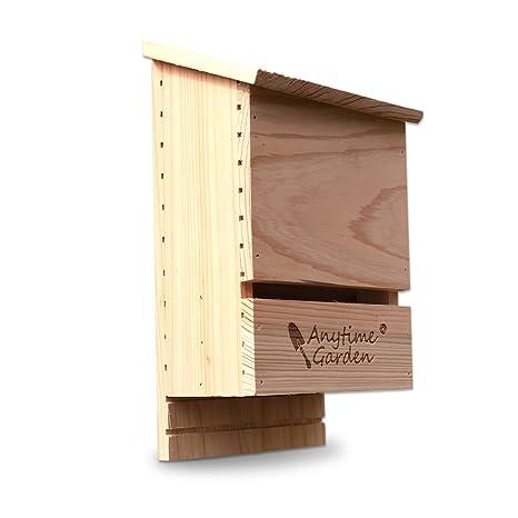 Casa para Murciélagos - Madera de Primera Calidad para el Control Ecológico de Mosquitos y Ácaros