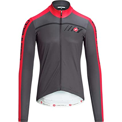 aff5757fd Castelli Velocissimo 2 Limited Edition Full-Zip Jersey - Men s Anthracite  Red