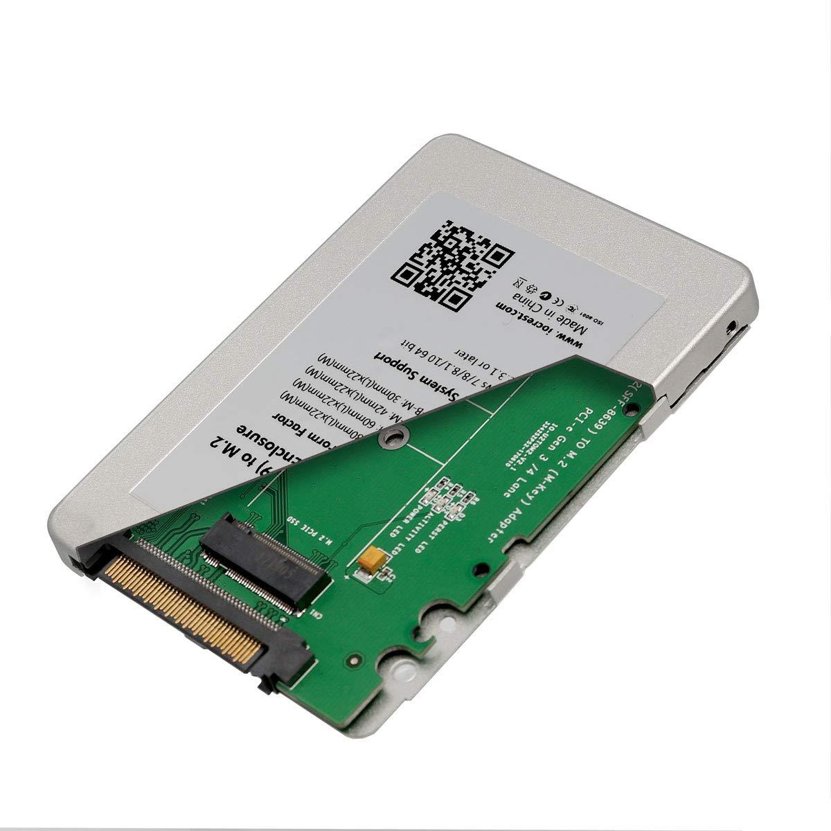 SYBA SY-ADA40112 SSD Enclosure 2.5