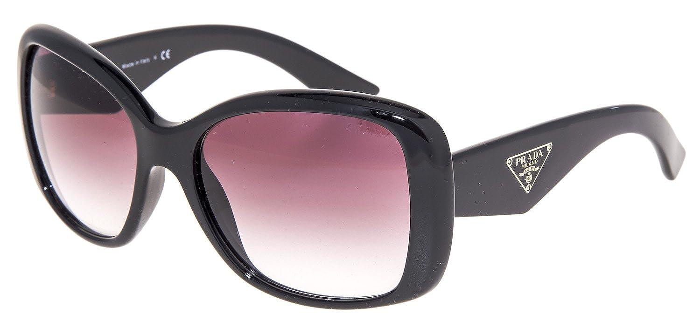 74f441283c6 Amazon.com  Prada PR 32PS - TRIANGLE Sunglasses Color 1AB4V1  Clothing