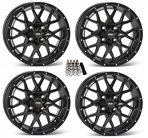 ITP Hurricane UTV Wheels/Rims Matte Black 15