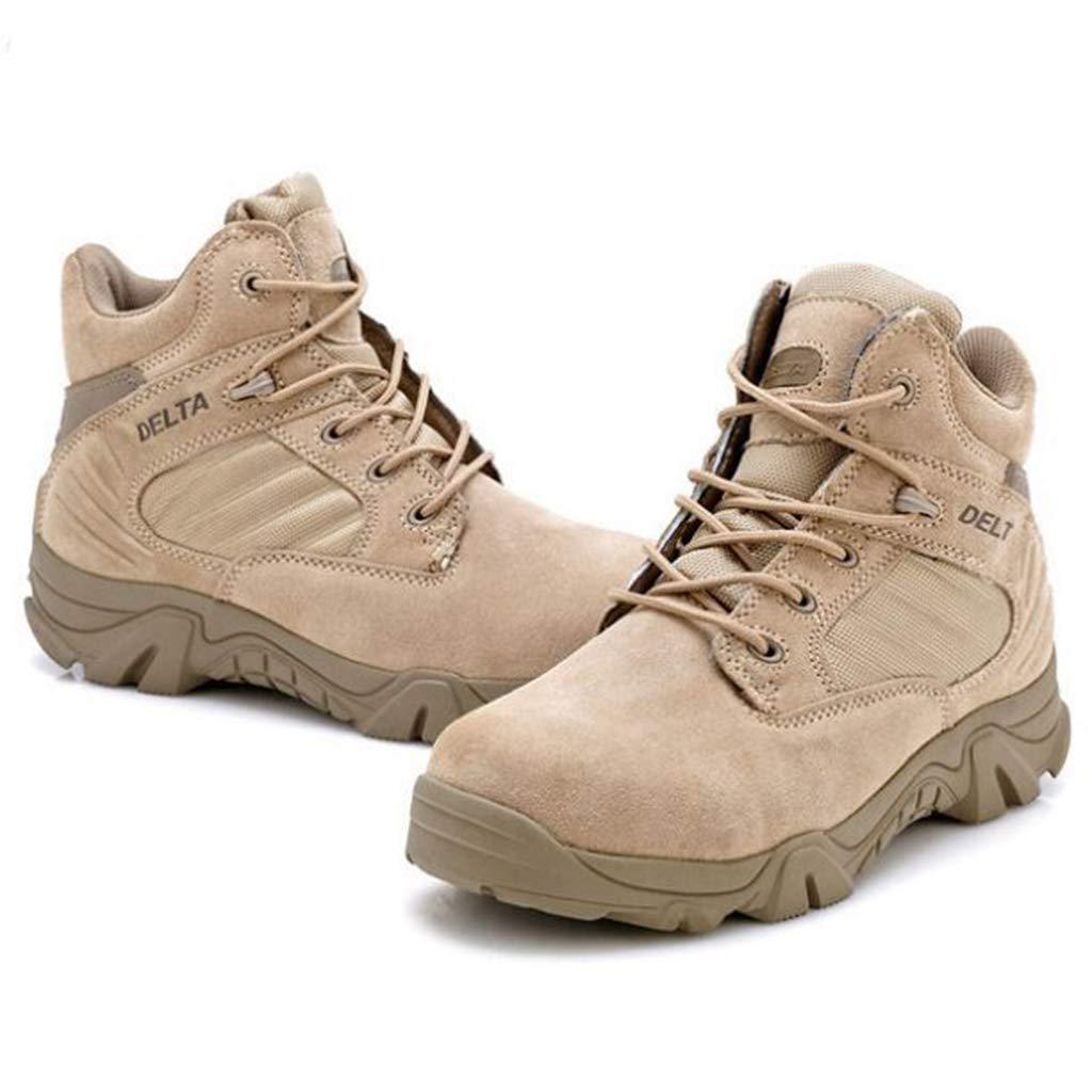 AEMUT Herren Milit/ärschuhe Taktische Wanderschuhe Schn/ürstiefel Kampfstiefel W/üstenpatrouille Outdoor-Schuhe