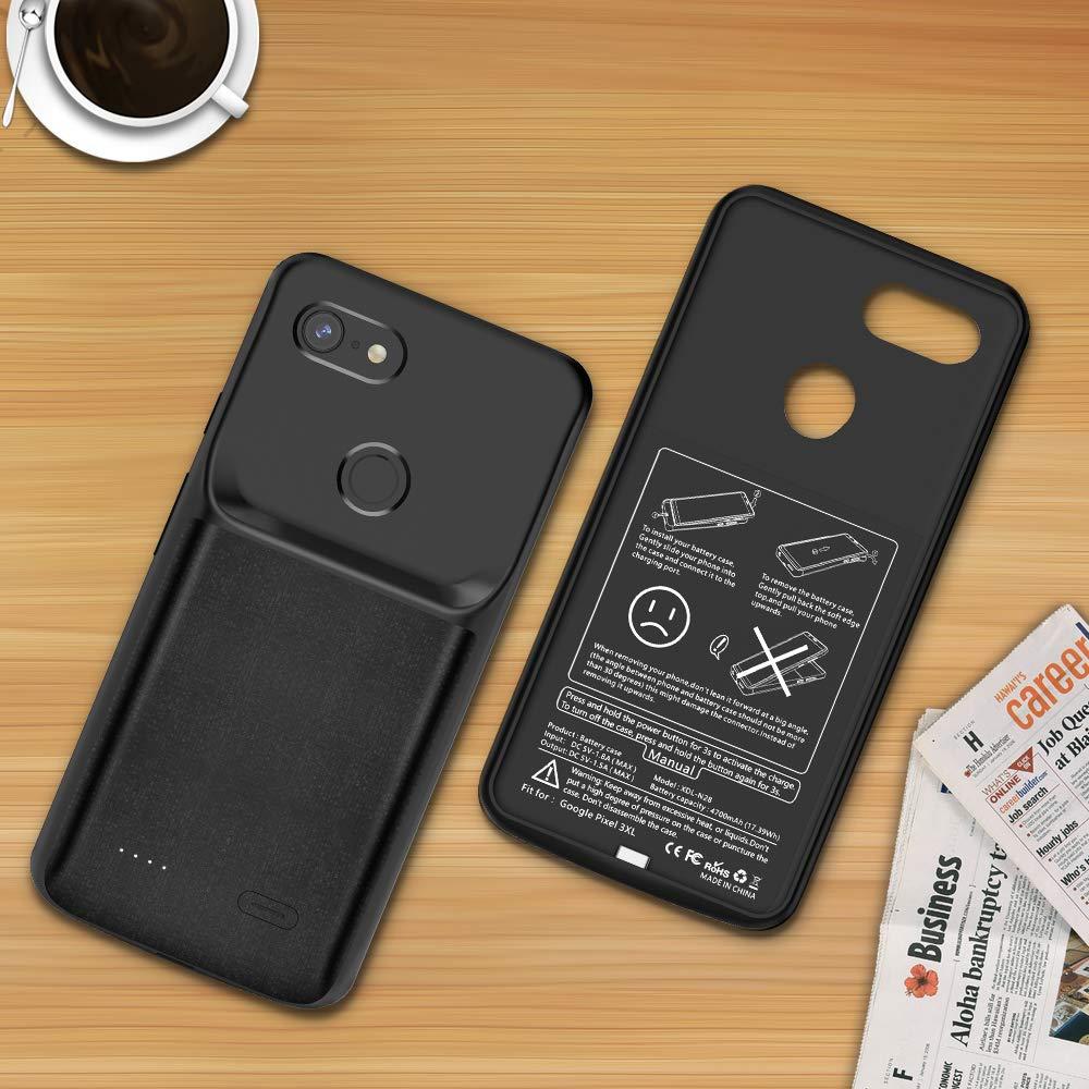 LG G6 Battery Case 5000mAh, Newdery LG G6//G6+ Portable Extended