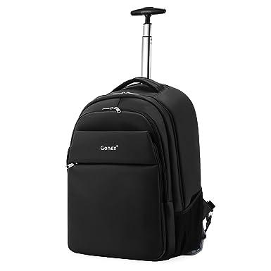Amazon.com   Rolling Backpack, Gonex Multifunction Waterproof ...