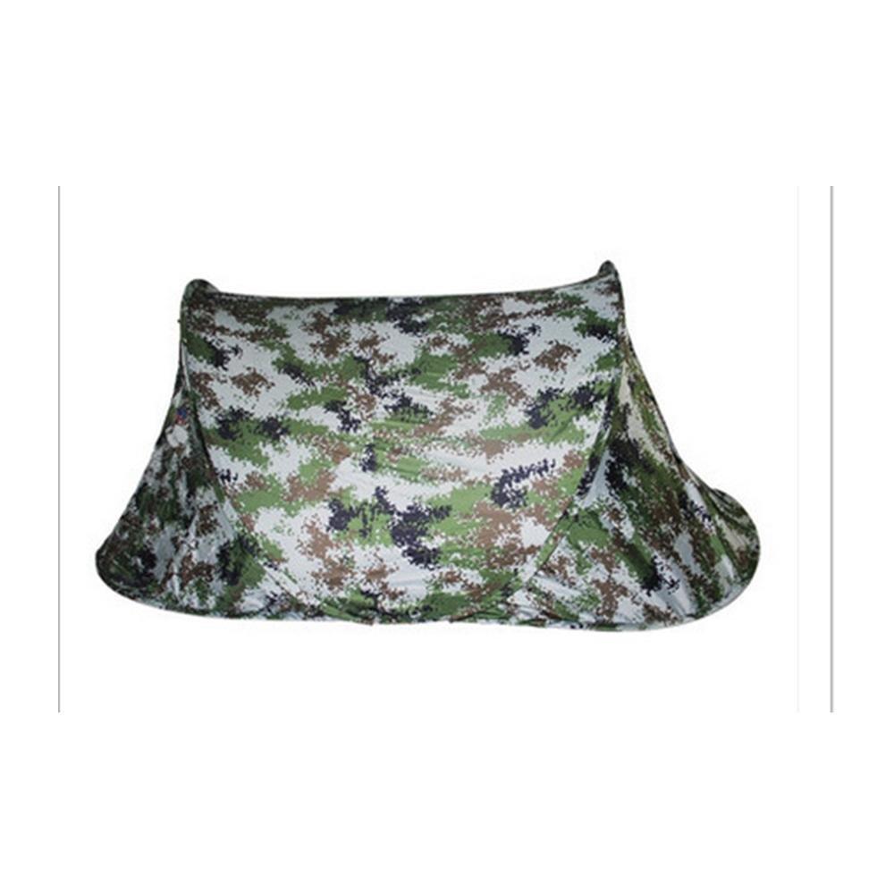 TJ Ultraleichte Tragbare Camouflage Zelten Outdoor 2 Personen Doppel Camping Rain Wind Speed Camouflage Zelten