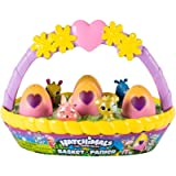 HATCHIMALS 6041273 Colleggtibles Flower Basket Assortment (Styles May Vary-One Supplied), Multi Colour