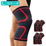 HAUSBELL Knee Brace, Compression Sleeve Knee Sleeves Knee Pad Support for Arthritis, ACL, Running, Biking, Joint Pain…