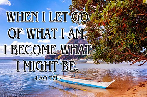 Lao Tzu | Growth Mindset Posters for Classroom | Growth Mindset Poster for Classroom | Classroom Poster | Inspirational | Motivational | 100 Lb Gloss Paper | 18-inch by 12-inch | P014 (Vinyl Unframed)