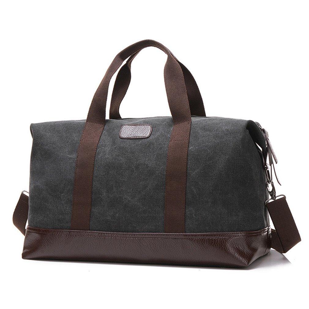 Training Gym Bag Men Women Canvas Sports Bag For Fitness Traveling Storage Handbags Shoulder Bag Black