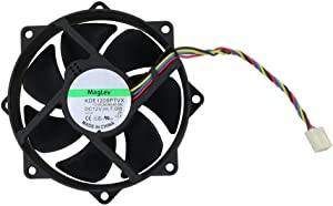 Generic 9225 Maglev Cooling Fan, Replace KDE1209PTVX , 92 x 92 x 25mm With 4 Pin 4 Wire Connector With PWM Control DC 12V, 7W