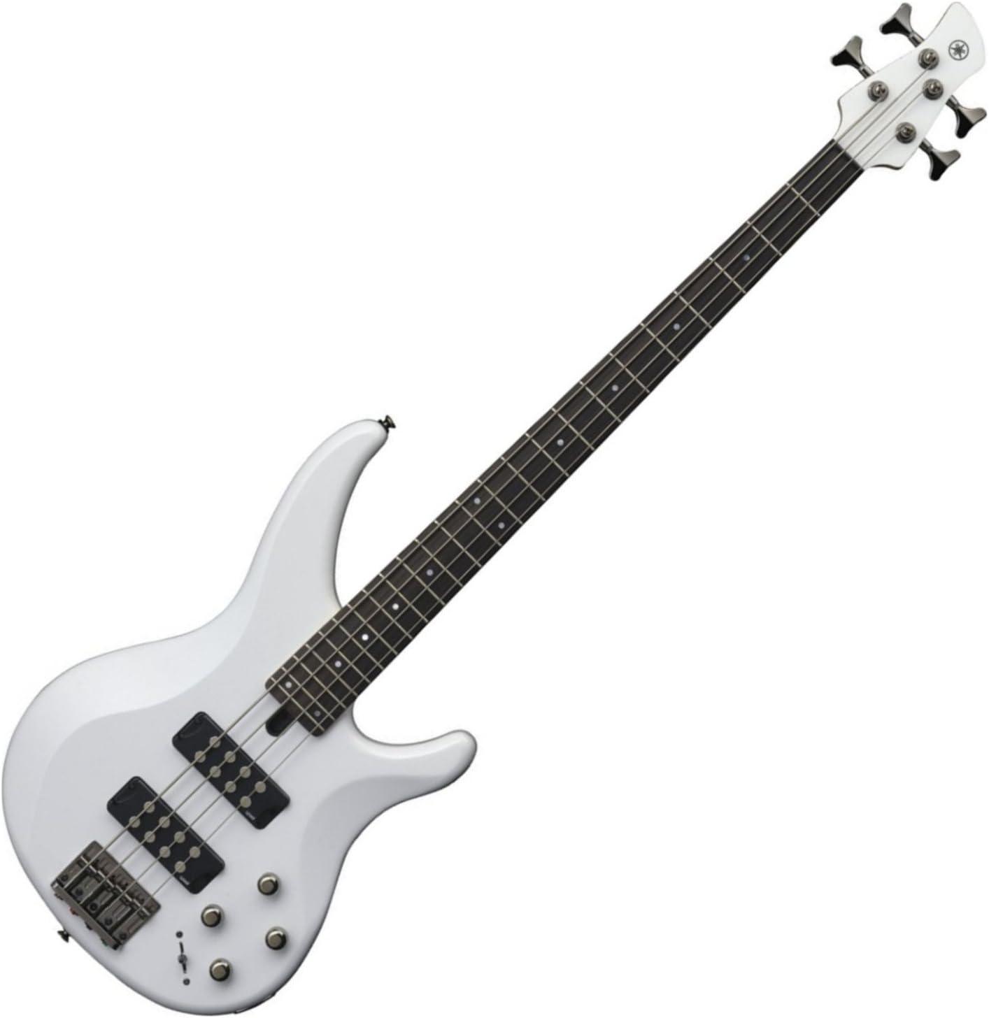 Yamaha TRBX304 WH TRBX-304 White 4 String Bass Guitar w/Gig Bag and Stand 71d6t33JFbLSL1500_