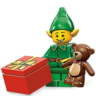 LEGO Minifigures Series 11 Holiday Elf Mini Figure: Toys & Games