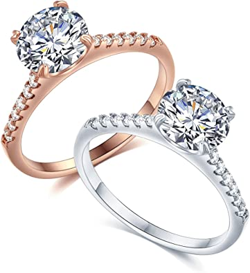 For Girls And Women Cubic Zirconia Stones Sterling Silver Gold Tone Arrow Ring