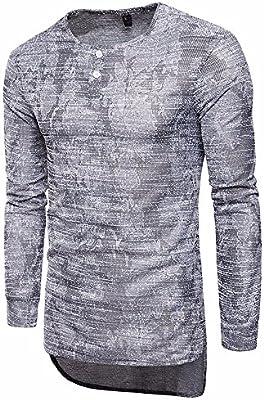 Covermason Camiseta para Hombre de Manga Larga Cuello Alto Hombre ...