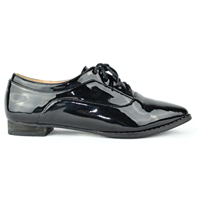 Chase & Chloe Pilot-1 Lace-up Women's Oxford | Oxfords